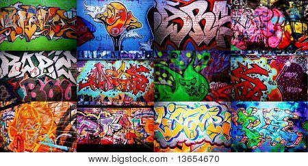 Graffiti Wall Absolutely incredble art work.