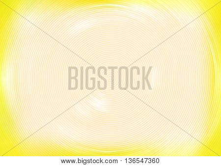 abstract background of yellow color with white spots spiraling