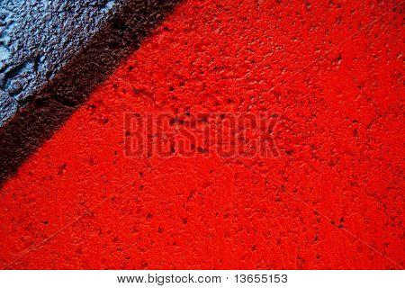 Abstract up close textured graffiti