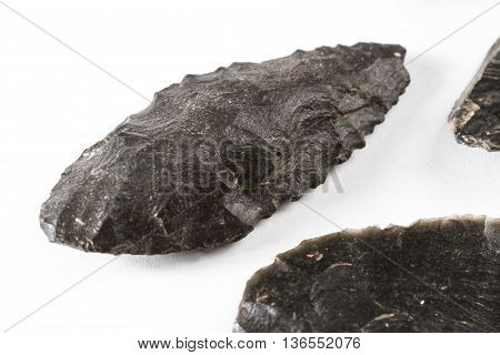 Native American Obsidian Knife