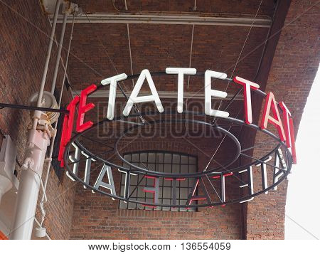 Tate Liverpool In Liverpool