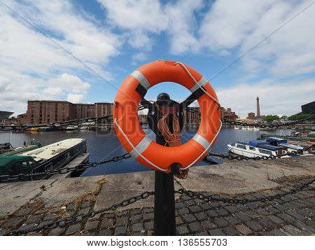 Albert Dock In Liverpool