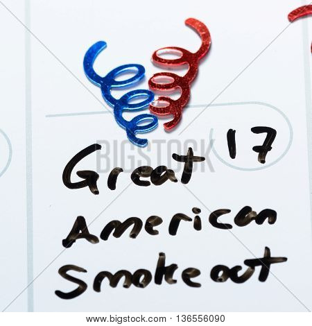 Great American Smoke Out