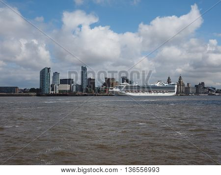 Waterfront In Liverpool