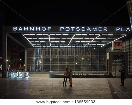 Potsdamerplatz In Berlin