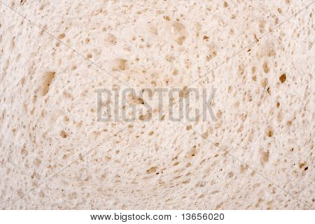 White Bread Close Up
