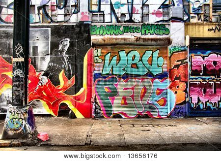 Cool graffiti shot