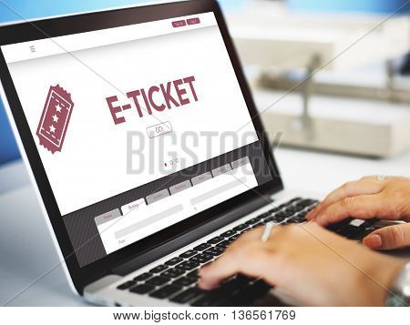 E-Ticket Ticket Booking Reservation Travel Concept