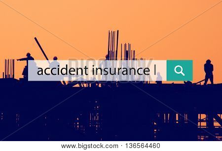 Accident Insurance Claim Damage Danger Rescue Concept