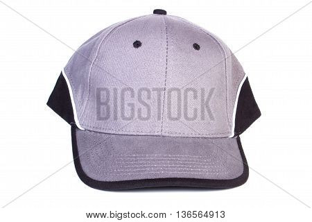 Baseball Cap On White Background, Protection From Sun