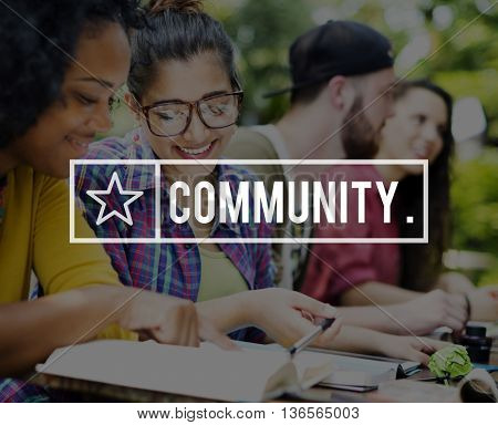 Community Support Connection Togetherness Society Concept
