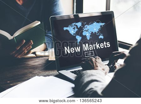 New Markets Business Innovation Global Business Concept