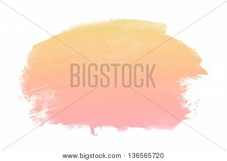 gradient pastel water color - abstract background