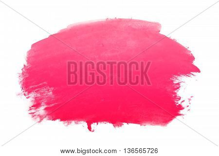 hot pink gradient water color abstract background