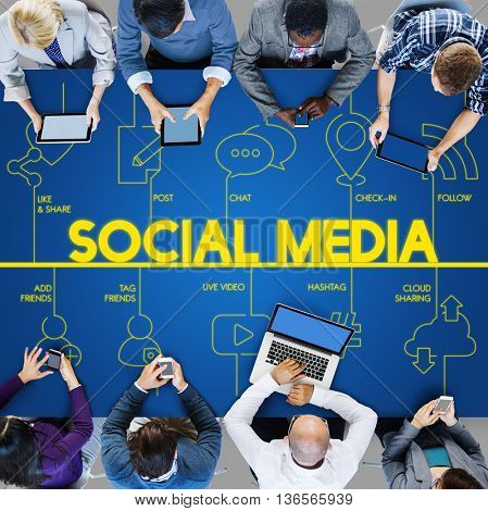 Technology Digital Communication Internet Connection Concept