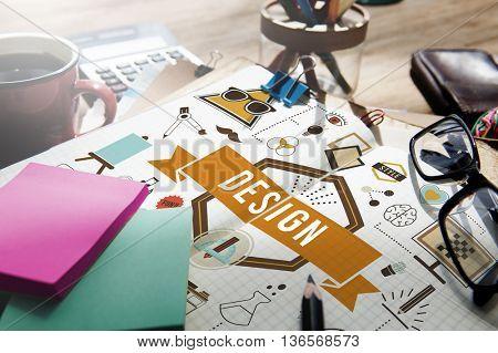 Design Creative Ideas Model Planning Sketch Concept