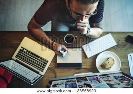 OverLoad Working Career Contemporary Work Concept