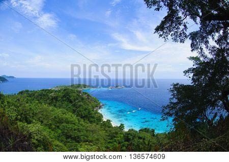 Tropical Beach, Similan Islands, Andaman Sea, Thailand