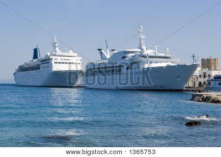 Two Cruise Ships