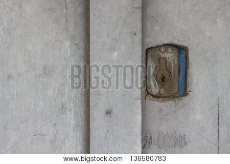 old door closeup detail open antique concept
