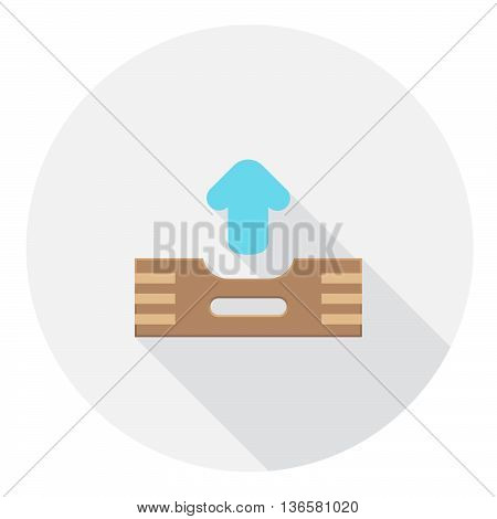 Outbox Message Files FLat Style Design Icon