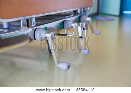 The Adjustable Patient Beds In Hospitals..