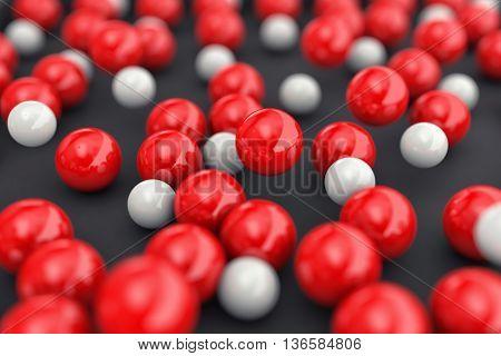 Balls Different Colors