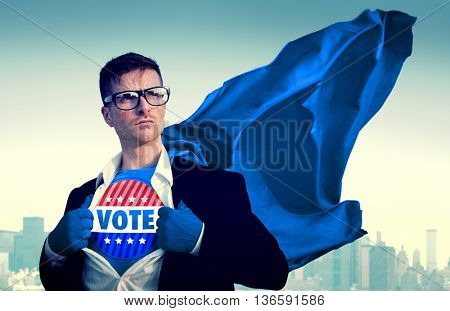 Patriot Patriotic Vote Voting Politic Concept