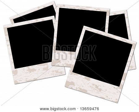 Blank Grunge Photo Frame