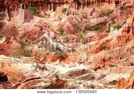 The Hell's Kitchen, Marafa Canyon, Kenya