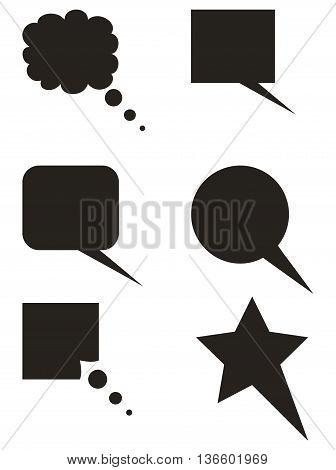 Sleep black icon dreamlike shape computer icon symbol