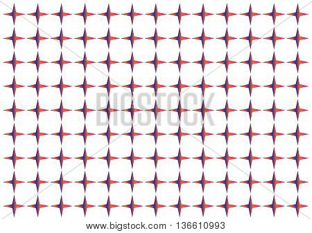 abstract color geometry pattern background symmetry red yellow concentration