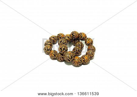 chinese style bracelace crafted to several texture