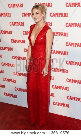 NEW YORK-NOV 18: Actress Kate Hudson attends the 2016 Campari Calendar Launch Event at The Standard Hotel on November 18, 2015 in New York City.