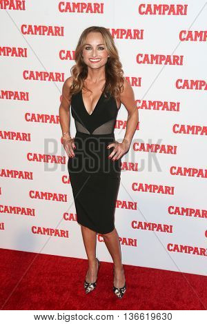 NEW YORK-NOV 18: Chef Giada De Laurentiis attends the 2016 Campari Calendar Launch Event at The Standard Hotel on November 18, 2015 in New York City.