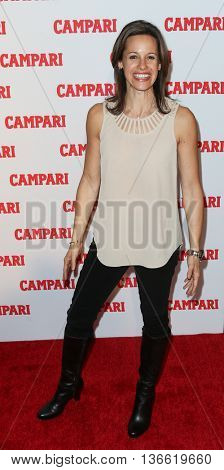 NEW YORK-NOV 18: Jenna Wolfe attends the 2016 Campari Calendar Launch Event at The Standard Hotel on November 18, 2015 in New York City.