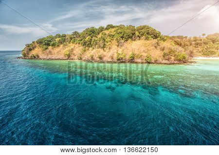 View of the island in Andaman sea, Thailand