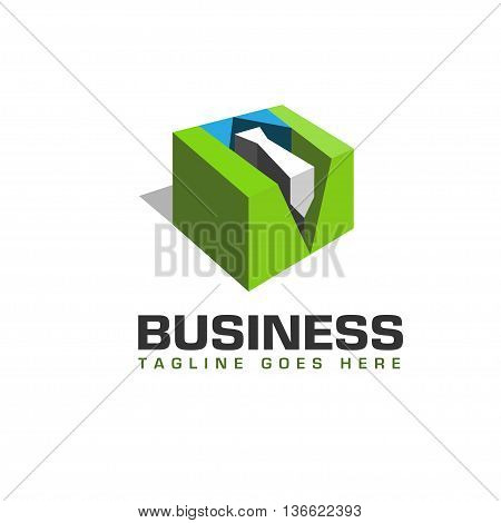 staff logo, 3d staff logo, leadership and Recruitment agency logo concept