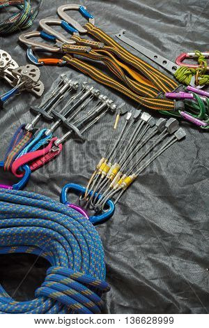 Equipment For Mountaineering And Rock Climbing