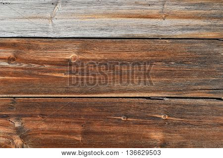 Old Brown Vintage Wooden Texture Background