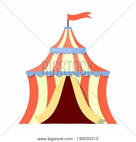 Circus Tent Colorful Icon