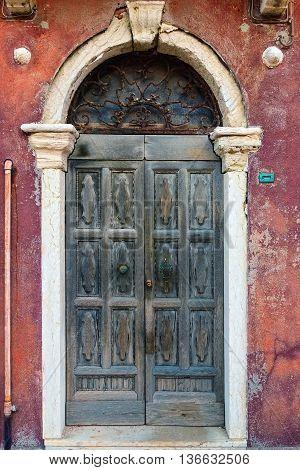 Venice, Old Wooden Door