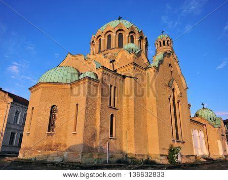 Patriarchal orthodox Cathedral of Holy Ascension of God Veliko Tarnovo Bulgaria