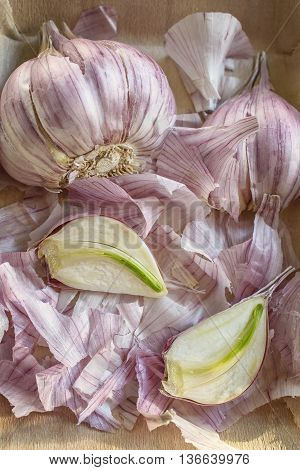 garlic is delicious and very healthy with lots of vitamins and low calories