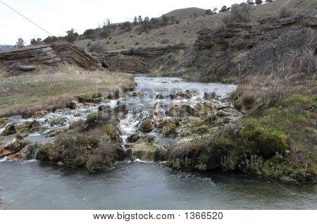 Boiling River, Montana