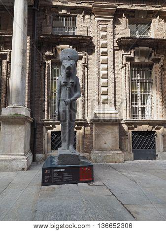 Museo Egizio In Turin