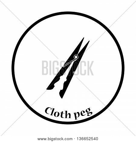 Cloth Peg Icon