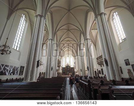 Marienkirche Church In Berlin