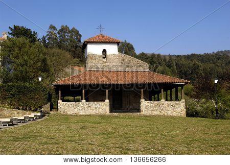 San Pedro church, Bakio, Basque Country, Spain