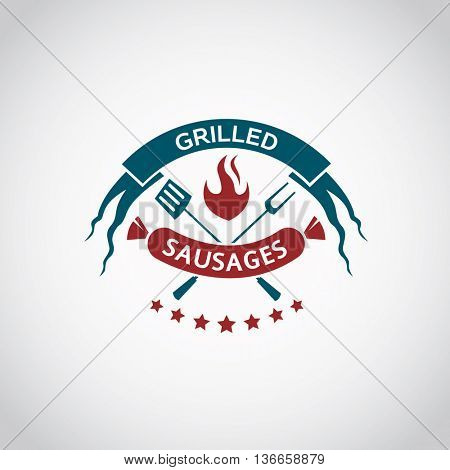 barbecue and grill icon graphic design